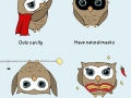 Owls can be superheroes