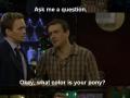 Barney's awesome lying skills