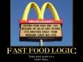 Fast food logic