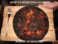 How to burn calories