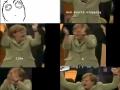 Merkel clapping around