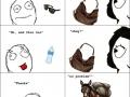 How men see women's purses