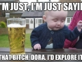 Drunk baby confessions