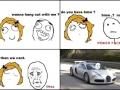 Bad luck girl!