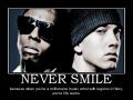 Never smile