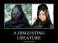 Insult to disgusting creatures