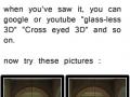 Glass-less 3D like a boss