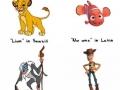 Disney Character Names