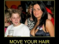 Move your hair