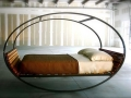 A rocking bed