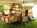 Camping like a sir