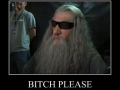 Gandalf is not amused