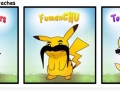Pokemon with moustaches