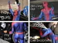 Spiderman at his finest