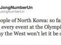 Kim Jong Un tweets