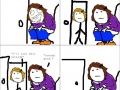 Always lock the door!