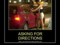 Giving directions like a h0e!