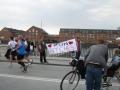 Cheering Marathon Runners