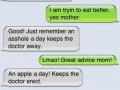 Great advice mom!
