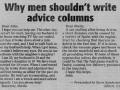 Why men..