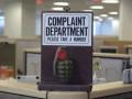 Dare to complain?
