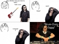 Skrillex can't leave his work