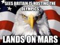 One-up America!