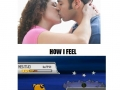 Getting a kiss from crush