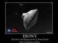 The UFO Irony