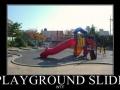 Playground slide?!