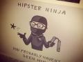 Hipster Ninja