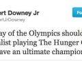 Robert on Olympics