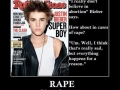 Justin Bieber on ethical issues