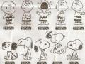 Evolution of Charlie & Snoopy