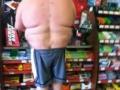 Fat torso, slim legs