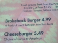 The Brokeback Burger