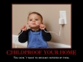 Childproofing