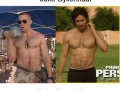 Celeb body tranformation