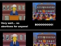 The Simpsons on abortion