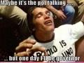 Arnold the pothead
