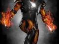 Ironman/Ghost Rider Fusion