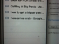 Gf's browser history