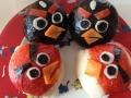 Angry Bird Rice Roll