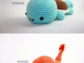 Knitted Pokemon
