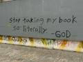 Some insightful graffiti