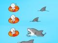 It's a shark attack!
