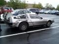 In the Walmart car park
