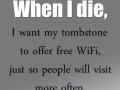 My death plan