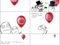 The cruel life of a balloon