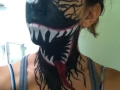 Venom Face Paint